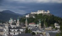 'Gipfeltreffen' am Mönchsberg in Salzburg (Foto Andreas Kolarik)