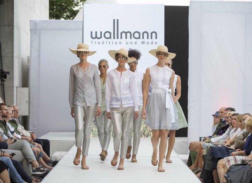 Die Sommerkollektion von Wallmann stütztsich auf Qualität, die sich sowohl in den hochwertigen Materialien wie auch inliebevollen Details wiederspiegelt (Foto Reed Exhibitions Salzburg/Andreas Kolarik)