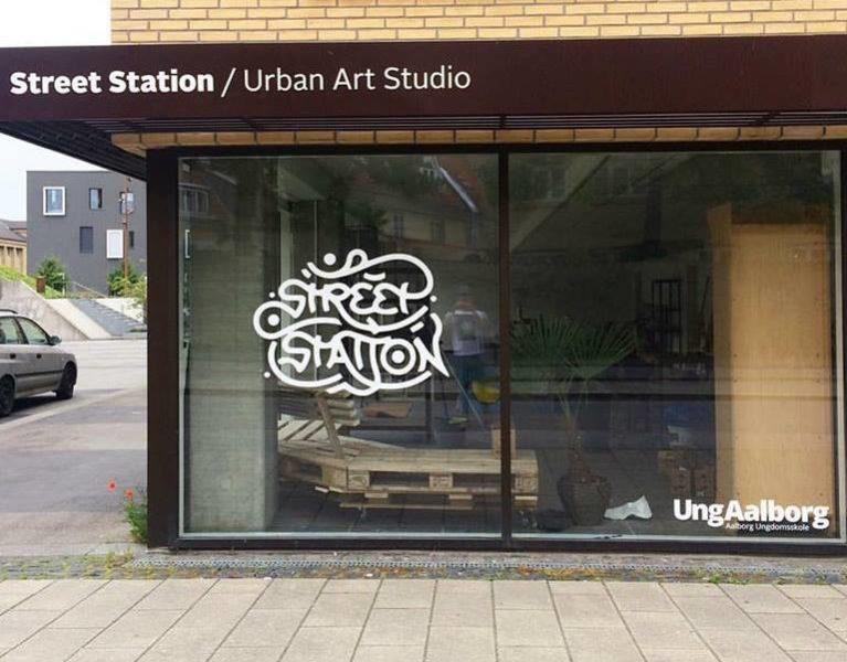 Das Kunststudio 'Street Station', das Street Art-Künstlerin Frida Still Vium und er gemeinsam führen, ist eines der erfolgreichsten Jugend Kunststudios Europas (Foto privat)