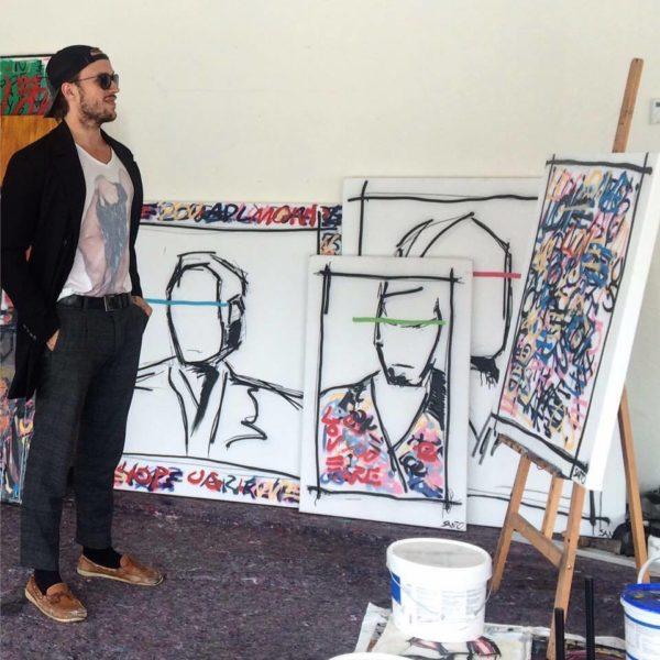Alessandro Painsi möchte in Kunststudios wie dem 'Street Station' jungen Menschen die Möglichkeit geben, sich kreativ zu entfalten - und das weltweit (Foto privat)