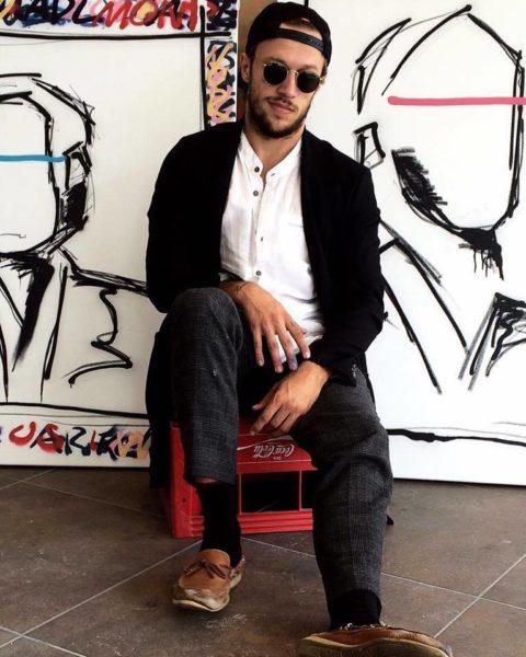 """""""Als Künstler kannst Du in so vielen Bereichen arbeiten, so viele interessante Leute kennen lernen und es öffnen sich immer wieder neue Türen"""", erklärt der junge Künstler Alessandro Painsi begeistert (Foto privat)"""