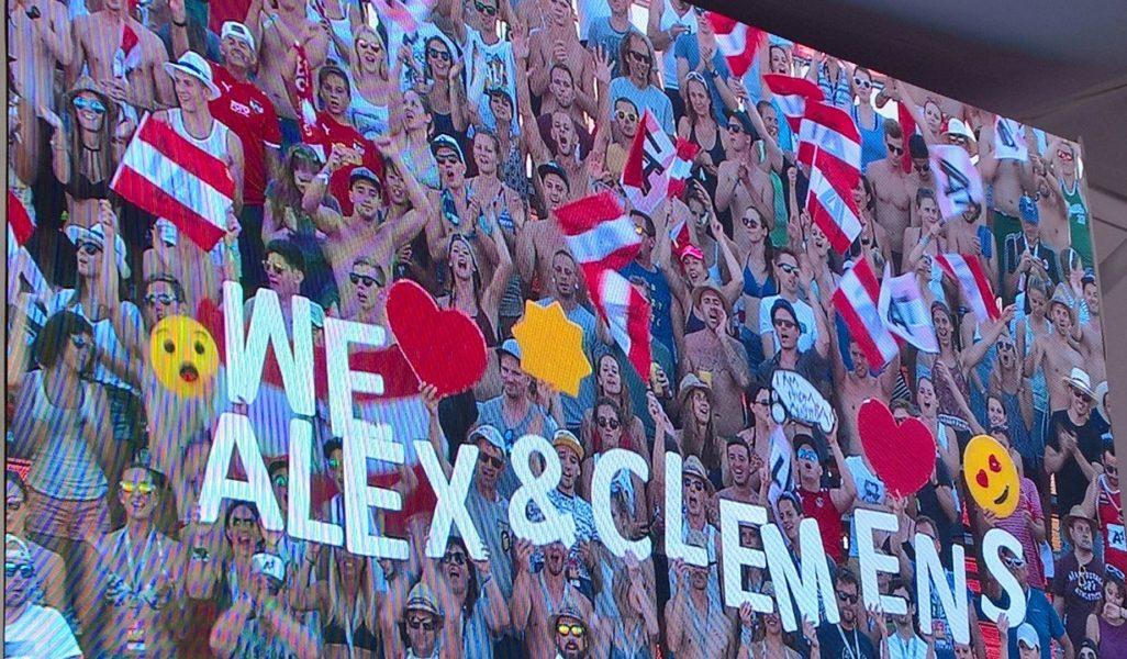Großartige Leistung: Silber für Clemens Doppler und Alexander Horst aus Österreich!