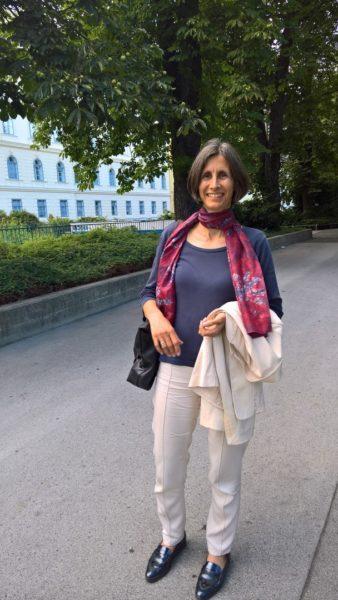 DI Sabine Wagner studierte Chemie an der Technischen Universität, ist seit 7 Jahren bei ELSTA Mosdorfer und leitet seit 4 Jahren den Standort Kaindorf a.d. Sulm, eine Produktionsstätte mit etwa 130 Mitarbeitern (Foto Hedi Grager)