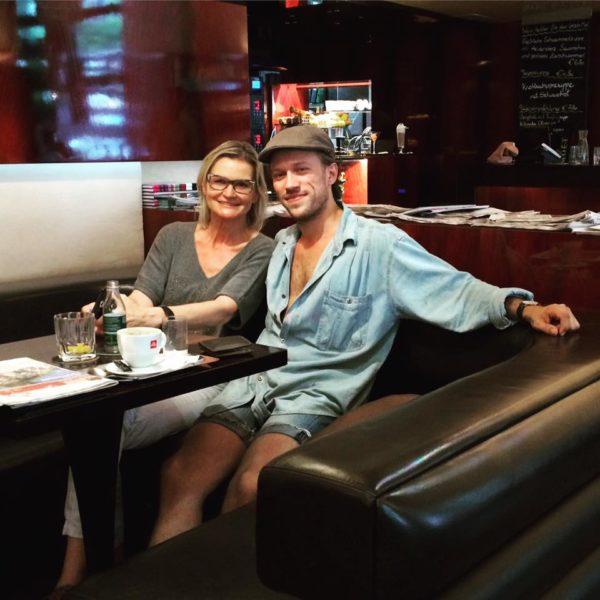 Kürzlich war Alessandro Painsi wieder einmal zu Besuch bei seiner Familie in der Steiermark. Bei einem gemütlichen Kaffeeplausch erzählte er mir von seinem Leben als Künstler in Dänemark (Foto privat)