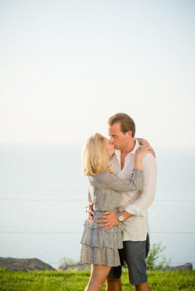 Glücklich: Jenny Magin mit Ehemann Philipp Magin in ihrem Ferienhaus in Ibiza (Foto Gypsy Westwood)