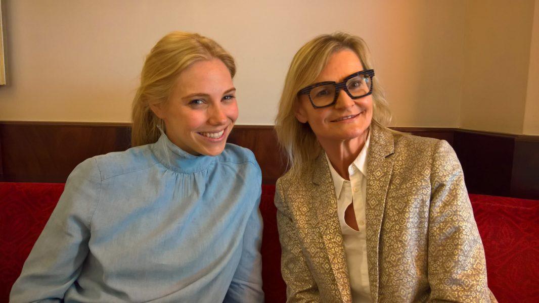 Ich traf Madonna-Herausgeberin Jenny Magin kurz vor ihrer Geburt zu einem Gespräch über '10 Jahre Madonna' und die Geburt ihrer Tochter Summer in Wien (Foto Reinhard Sudy)