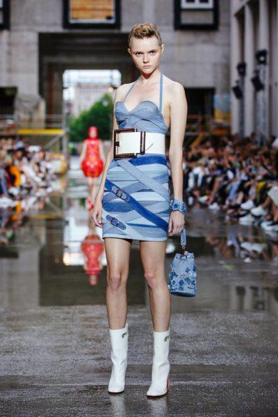Marina Hoermanseder legte wieder eine tolle Show auf der Fashion Week Berlin hin (Foto Stefan Kraul)