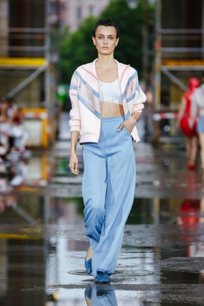 Marina Hoermanseder ist von der Berliner Fashion Week nicht mehr wegzudenken (Foto Stefan Kraul)