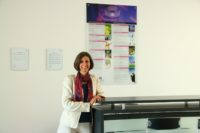 Dipl.-Ing. Sabine Wagner leitet den Standort Kaindorf der ELSTA Mosdorfer GmbH (Foto privat)