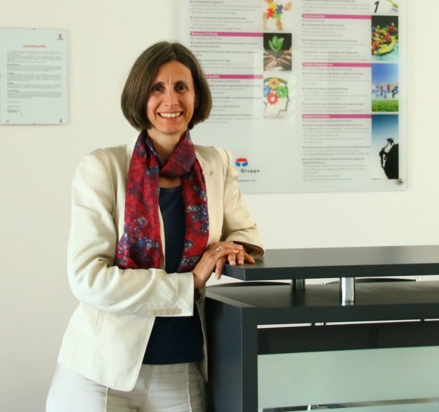 An ihrem Job machen DI Sabine Wagner vor allem der Gestaltungsspielraum, die Vielfalt der Aufgaben und das Arbeiten mit Menschen viel Spaß (Foto privat)
