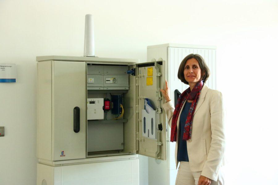 DI Sabine Wagner gehört zu den wenigen weiblichen Führungskräften im Industriebereich (Foto privat)