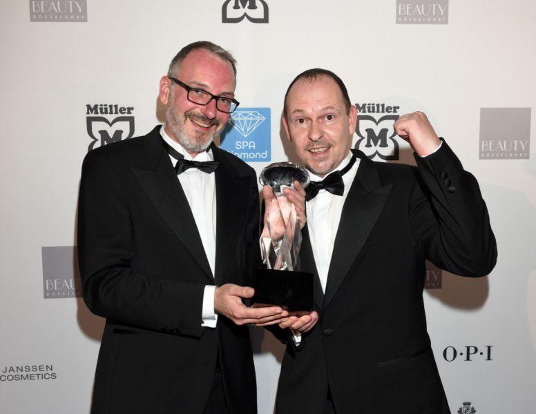 Die Preisträger Thomas und Mike Meissner, Meissner Tremonia Dortmund, wurden in der Kategorie Newcomer mit einem SPA DIAMOND ausgezeichnet (Foto Verlagshaus Busche, Dortmund)