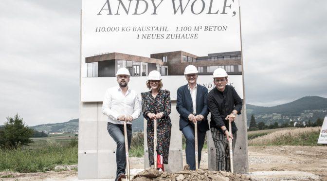 Andy Wolf Eyewear – Spatenstich in Hartberg
