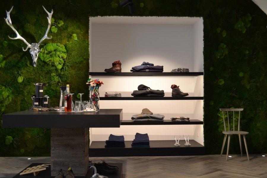 Der neue geschmackvolle Luis Trenker Store in der Wiener Herrengasse (Foto Luis Trenker)