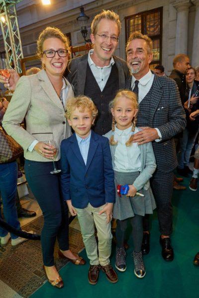Familie - Enkel von Luis Trenker und Michael Klamera bei der Eröffnung des Luis Trenker Shops in Wien (Foto Starpix / Alexander Tuma)