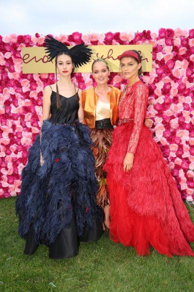 Am Vienna Ascot Ladies Day präsentierte die international erfolgreiche Designerin Eva Poleschinski in einer grandiosen Show erstmals ihre neue Herbst-Couture (Foto Moni Fellner)