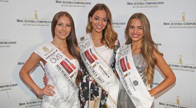 Miss Austria Siegerinnen: Internationale Wahlen