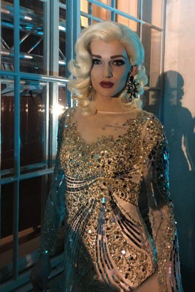 Hinter der glamourösen Drag Queen Gloria Hole verbirgt sich der erfolgreiche Grazer Hairstylist Christoph Skoff (Foto privat)