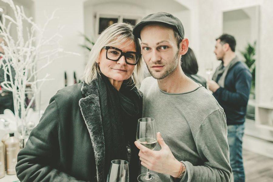 Auch Journalistin und Bloggerin Hedi Grager war bei Christoph Skoff's Eröffnung seiner Haarmanufaktur 2016 dabei (Foto DaPic)