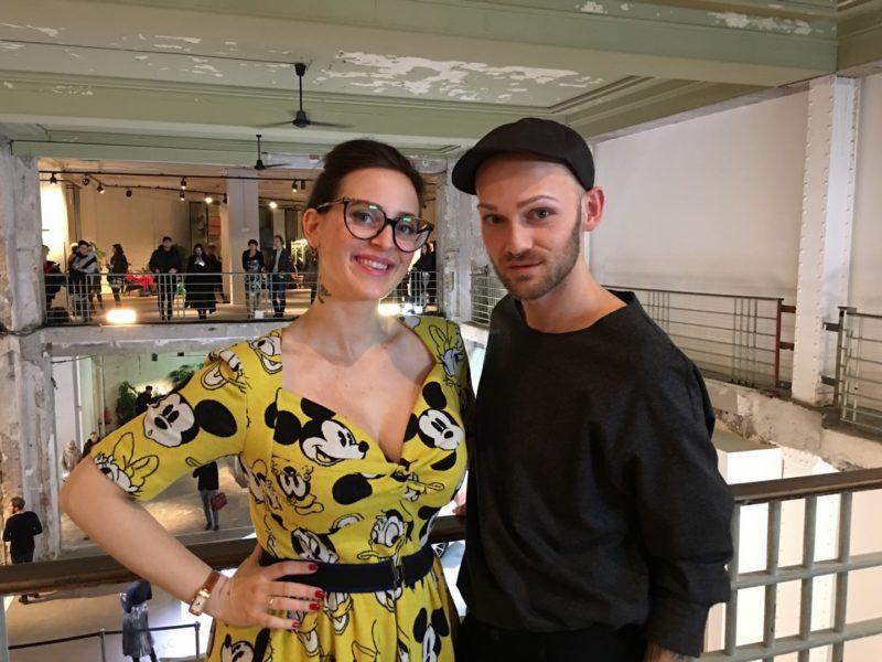 Auch die steirische Designerin Lena Hoschek vertraut Christoph Skoff und bucht ihn für ihre Fashion Shows in Berlin (Foto privat)