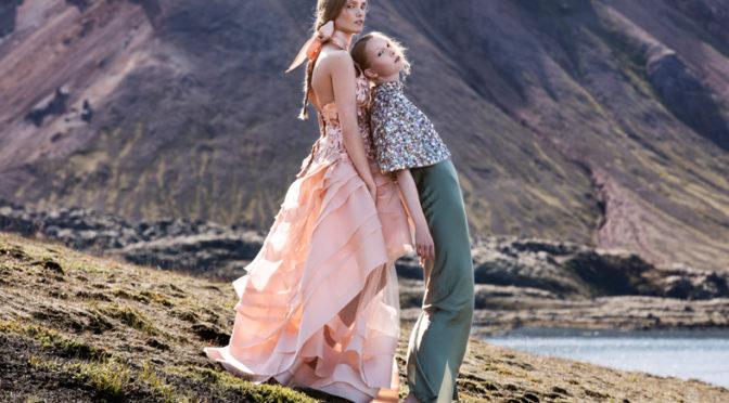 Eva Poleschinski: neue Kollektion mit dem exzentrischen Einfluss Islands