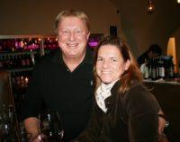 Franz Grossauer mit Sabine Flieser-Just bei der Sting Weine-Präsentation (Foto Christina Dow)