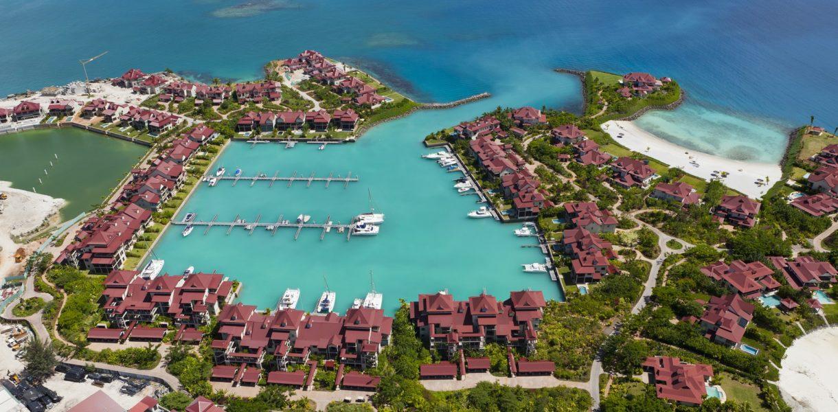Marlies Muhr hat auch 'Liebhaber-Projekte' auf Eden Island, Seychelles (Foto privat)