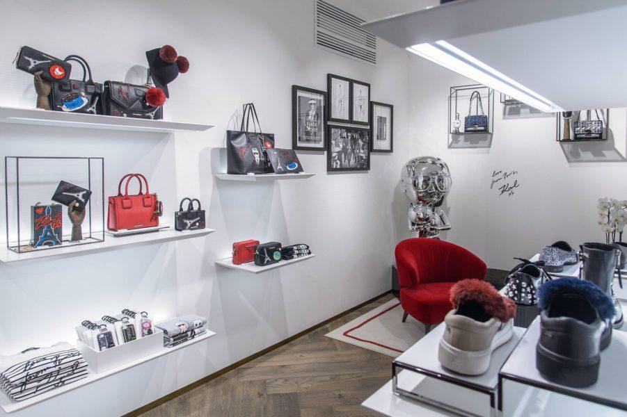 Karl Lagerfeld Store-Opening in Wien: Weltweit gibt es nur etwa 80 Shops des 83-jährigen Karl lagerfeld, der vor allem durch seine Arbeit für Chanel Kult-Status erreichte (Foto Karl Lagerfeld)