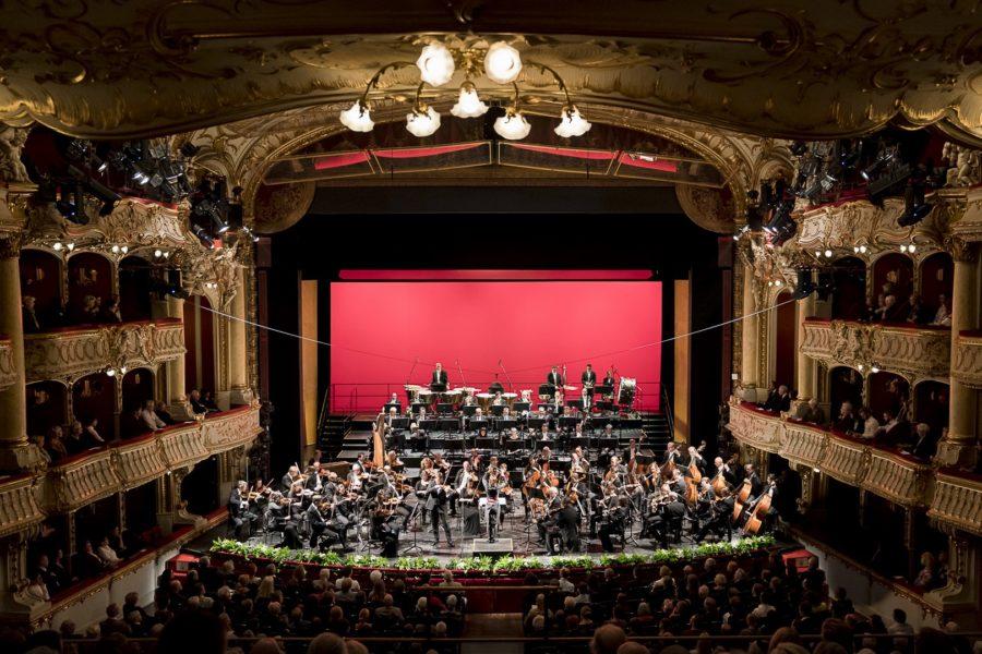 """Oksana Lyniv: """"Als Dirigent lebt man gleichzeitig in mehreren Phasen. Wir arbeiten an Stücken für morgen, planen aber gleichzeitig schon zwei, drei Saisonen voraus. Man sucht neue Stücke aus, denkt über Konzerte und neue Produktionen nach. Und man befasst sich mit Komponisten, die gerade neue Werke entwickeln."""" (Foto Werner Kmetitsch)"""