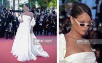 Rihanna trägt ANDY WOLF Eyewear (Fotos Getty Images)