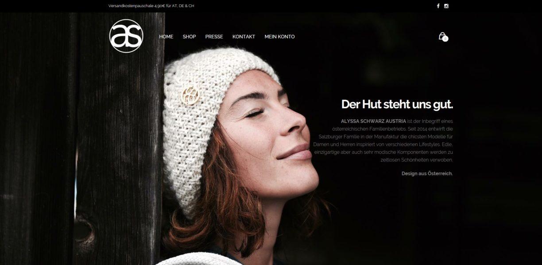 ALYSSA SCHWARZ AUSTRIA wird in Zukunft während der Wintermonate in Pop up-Stores erhältlich sein, ansonsten das ganze Jahr über in kleineren Boutiquen und im Großhandel.