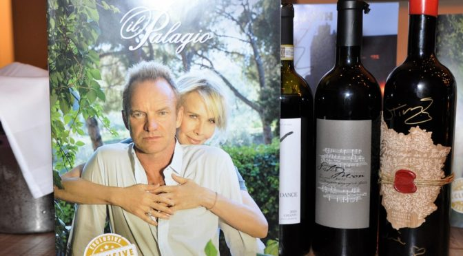 Sänger Sting – Weingut 'Il Palagio'
