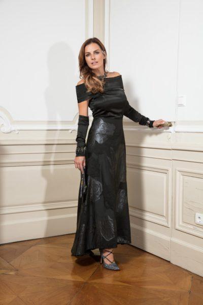 Bettina Assinger designte gerade eine Abend-Kollektion für das österreichische Erfolgslabel Jones (Foto Andreas Waldschütz)
