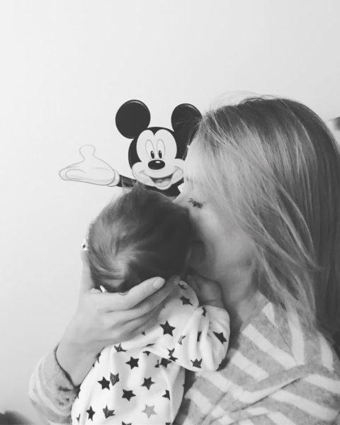 Das schönste private Ereignis 2017 war für Liliana Klein natürlich die Geburt ihrer Tochter (Foto privat)