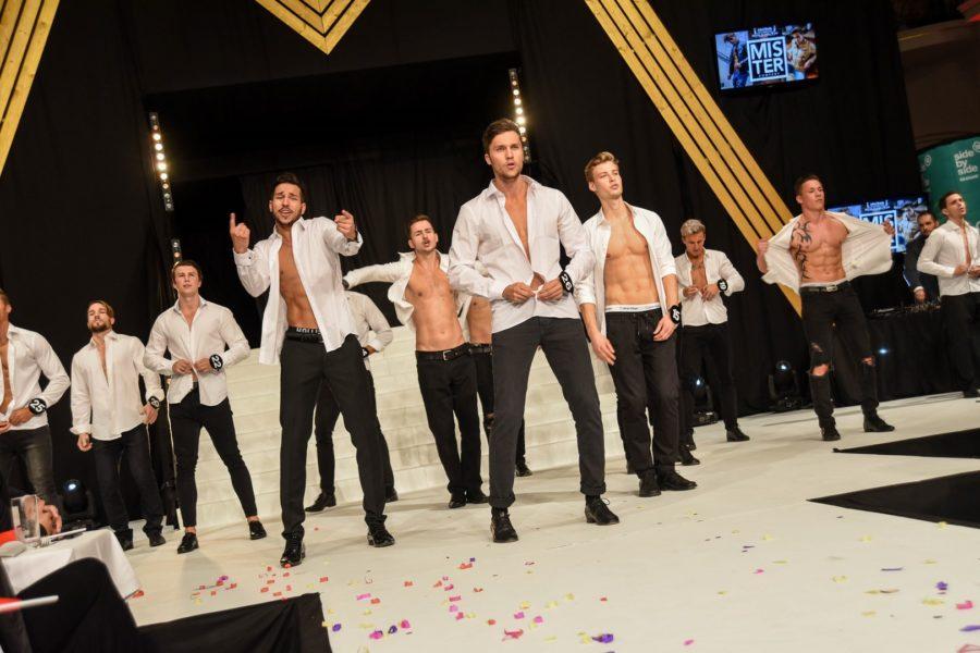 Gutes Aussehen allein genügt nicht - Mister Austria-Teilnehmer müssen auch im Mister Camp, bei den Challenges, am Catwalk und bei den Tanzchoreographien überzeugen (Foto Mister Company/Pail)