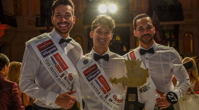 Alberto Nodale ist Mister Austria 2017