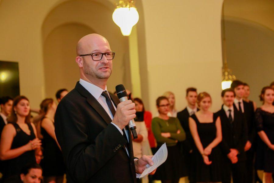Bernd Pürcher beim Casting für die Opernredoute 2018 (Foto Simon Moestl)