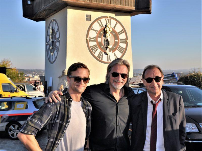 Michael Steinocher, Stefan Jürgens und Dietrich Siegl ermitteln in Graz (Foto Reinhard Sudy)