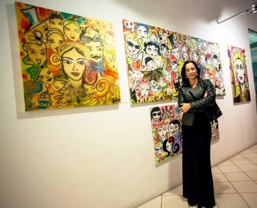 """Kim Lone: """"Ich freue mich sehr auf meine neue Ausstellung im Frühjahr in London, im Künstlerstadtteil Shoreditch, wo ich auch einige Jahre wohnte."""" (Foto privat)"""