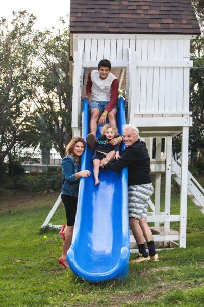 Lea und Peter Wolf-Millesi führen mit ihren Kindern ein glückliches und erfolgreiches Leben in Los Angeles (Foto privat)
