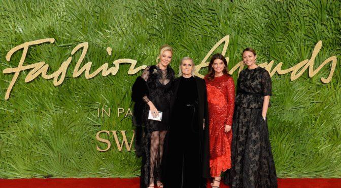 Fashion Awards 2017 in Partnerschaft mit Swarovski