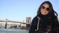 Nadja Tanzer bei einem New York City-Besuch (Foto privat)