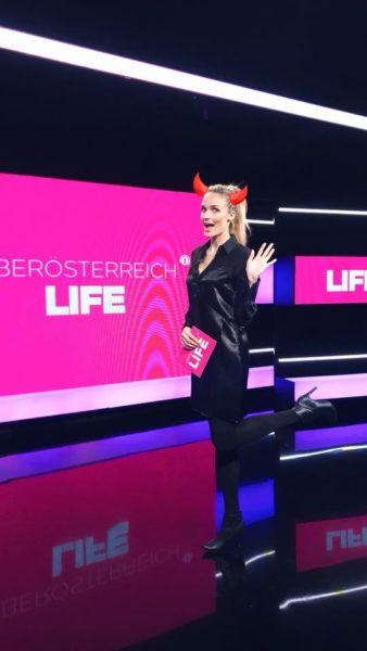 Patricia Kaiser hat seit 2017 ihre eigene Lifestyle Sendung auf LT1 (Foto privat)