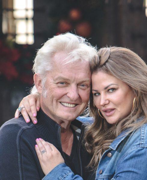 Lea und Peter Wolf-Millesi wünschen sich für 2018 vorrangig natürlich Gesundheit, Liebe und Glück (Foto privat)