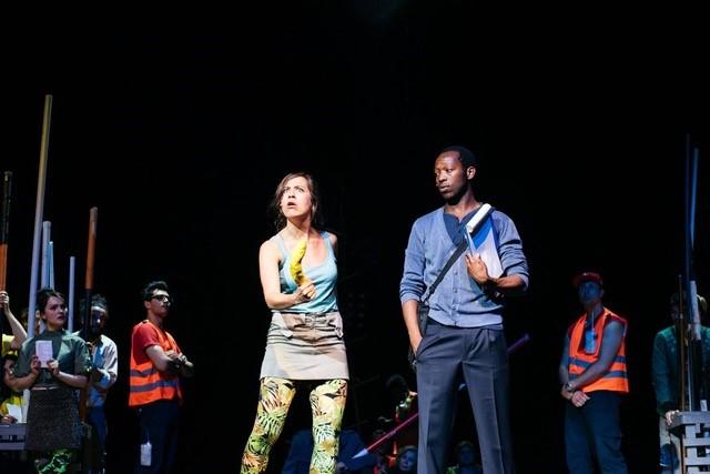 """Sophie Resch in """"Traiskirchen. Das Musical"""". Foto privat)"""