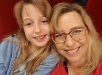 Stella Fürst mit ihrer Tochter Pamina (Foto privat)