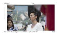 Solmaaz Adeli singt in der US-Botschaft in Wien (Foto privat)