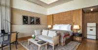 "Bulgari eröffnete Ende 2017 das neueste Schmuckstück seiner exklusiven Hotelkollektion in Dubai. Das luxuriöse Bulgari Resort Dubai liegt am Strand der Insel ""Jumeira Bay Island"" (Foto Bulgari)"