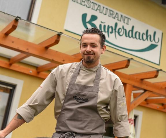 Daniel Edelsbrunner vom Restaurant Kupferdachl (Foto Jungwirth)