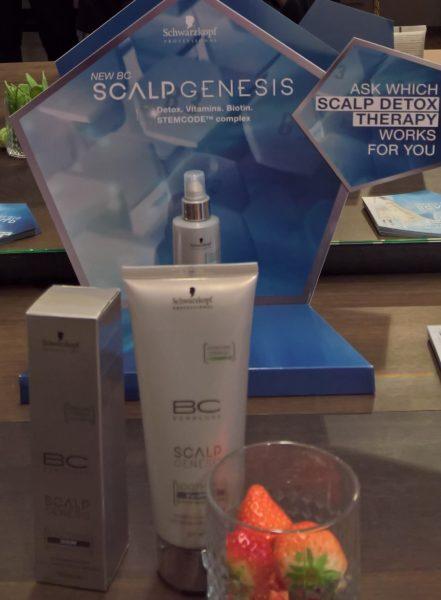 Die neue Produktlinie von Schwarzkopf Professional - BC Bonacure Scalp Genesis - ist für trockene und sensible Kopfhaut (Soothing-Range), schnell fettende Kopfhaut (Purifying Range), Schuppen (Anti-Dandruff Range) und Haarausfall (Root Activating Range) geeignet (Foto Hedi Grager)